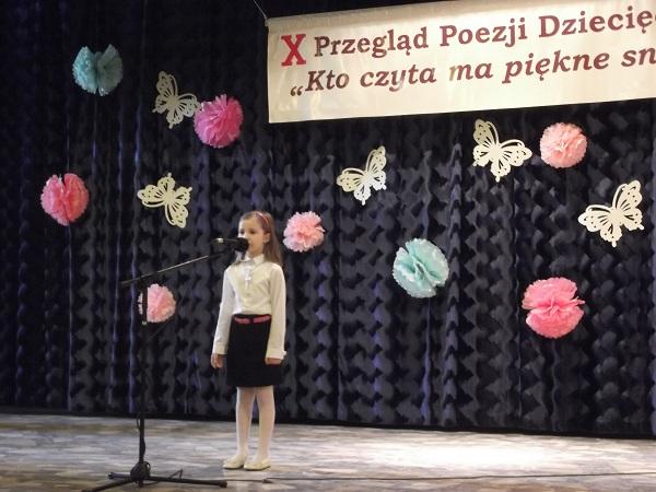 Wojewódzki Międzyprzedszkolny Przegląd Poezji Dziecięcej